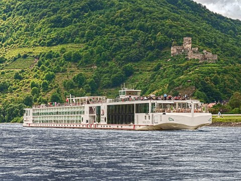 And the castles that you find… and the windmills of the Rhine. A river cruise from Basel to Amsterdam
