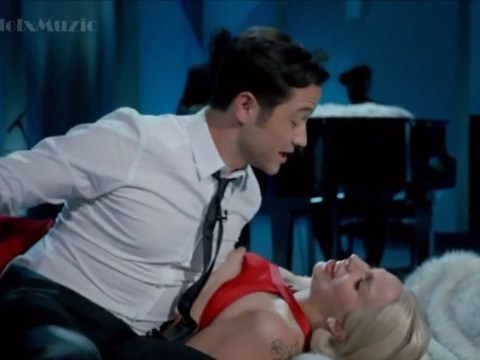 Allow Lady Gaga and Joseph Gordon-Levitt to get you in the Christmas mood