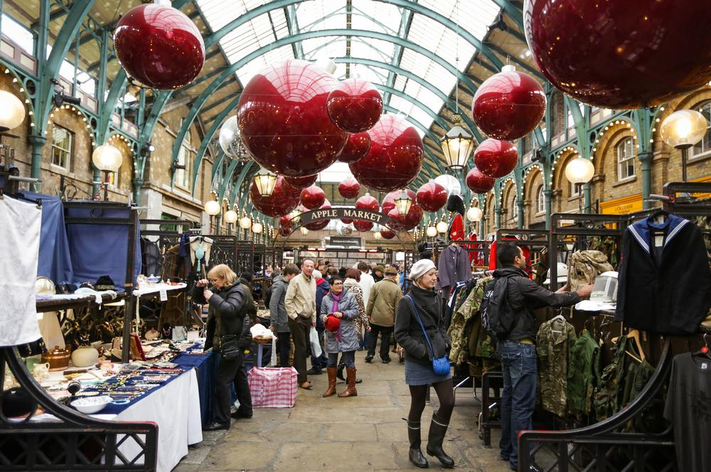 An alternative guide to Christmas shopping in London