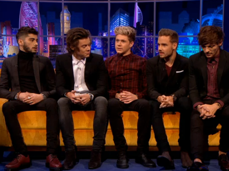 Harry Styles reveals 'nice' girlfriend ambitions to Jonathan Ross