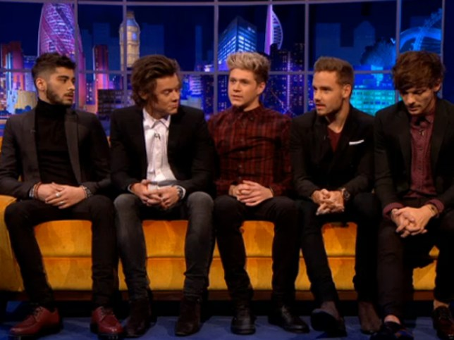 One Direction on The Jonathan Ross Show