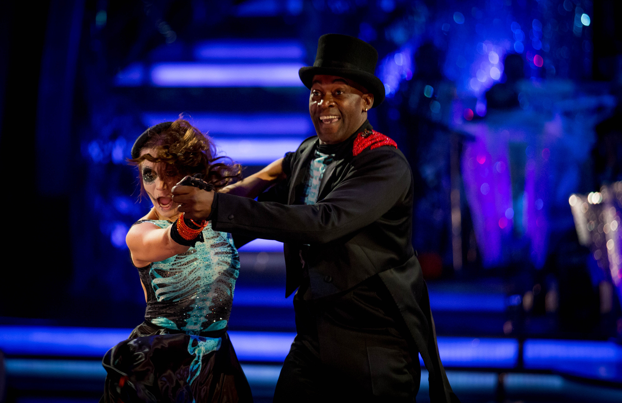 Strictly Come Dancing's Patrick Robinson vows not to flash the flesh as he backs Natalie or Ashley to win