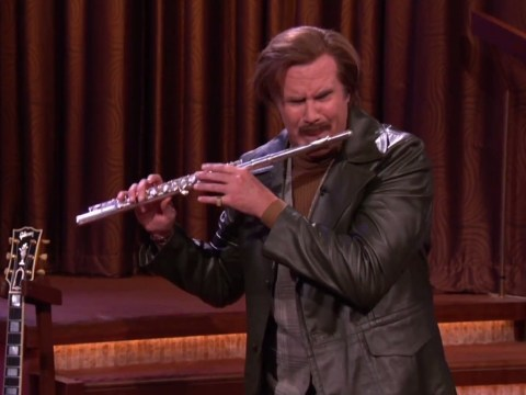 Ron Burgundy livens up Rob Ford's re-election campaign song with jazz flute solo