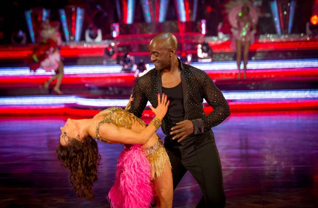 Strictly Come Dancing Patrick and Anya