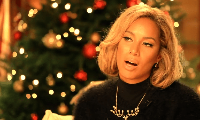 Leona Lewis is in the Christmas spirit (Picture: Vevo)