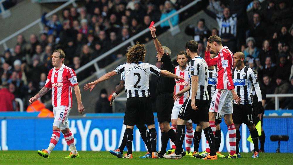 Poor refereeing from Martin Atkinson cost improving Stoke against Newcastle