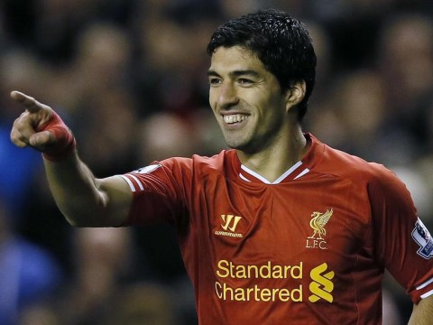 Luis Suarez – so good, he scores for Liverpool even when he's not playing to lift Fantasy Football managers everywhere