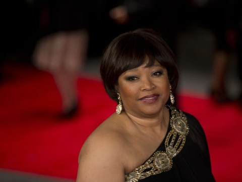 Nelson Mandela's daughter Zindzi at premiere as tragic news of father's death hits