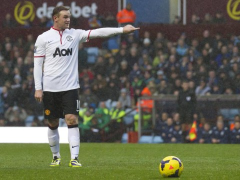 Wayne Rooney injured and misses Manchester United's Capital One Cup clash with Stoke