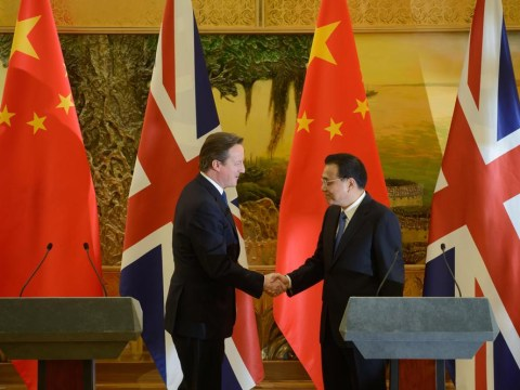 China trip: Salesman David Cameron has sold our principles down the Yangtse
