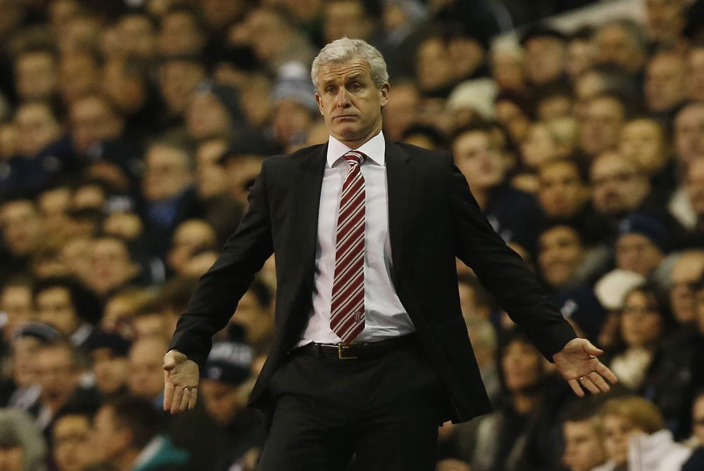 Failings against Tottenham couldn't have come at a better time for Mark Hughes and Stoke