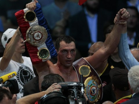 Wladimir Klitschko wants to become the first undisputed world heavyweight champion since Lennox Lewis