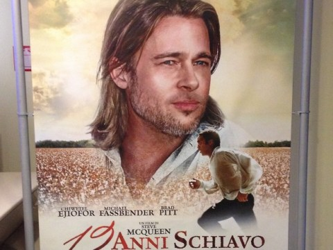 12 Years A Slave: Distributor apologises for 'distracting' Brad Pitt poster