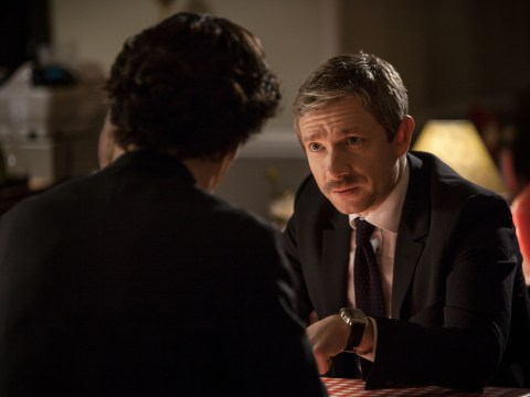 Sherlock series 3: Martin Freeman admits aloof audition almost cost him Dr John Watson role