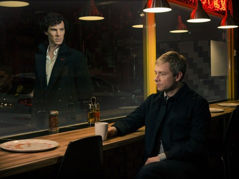 Sherlock series three, episode one, The Empty Hearse: How did Sherlock fake his own death?