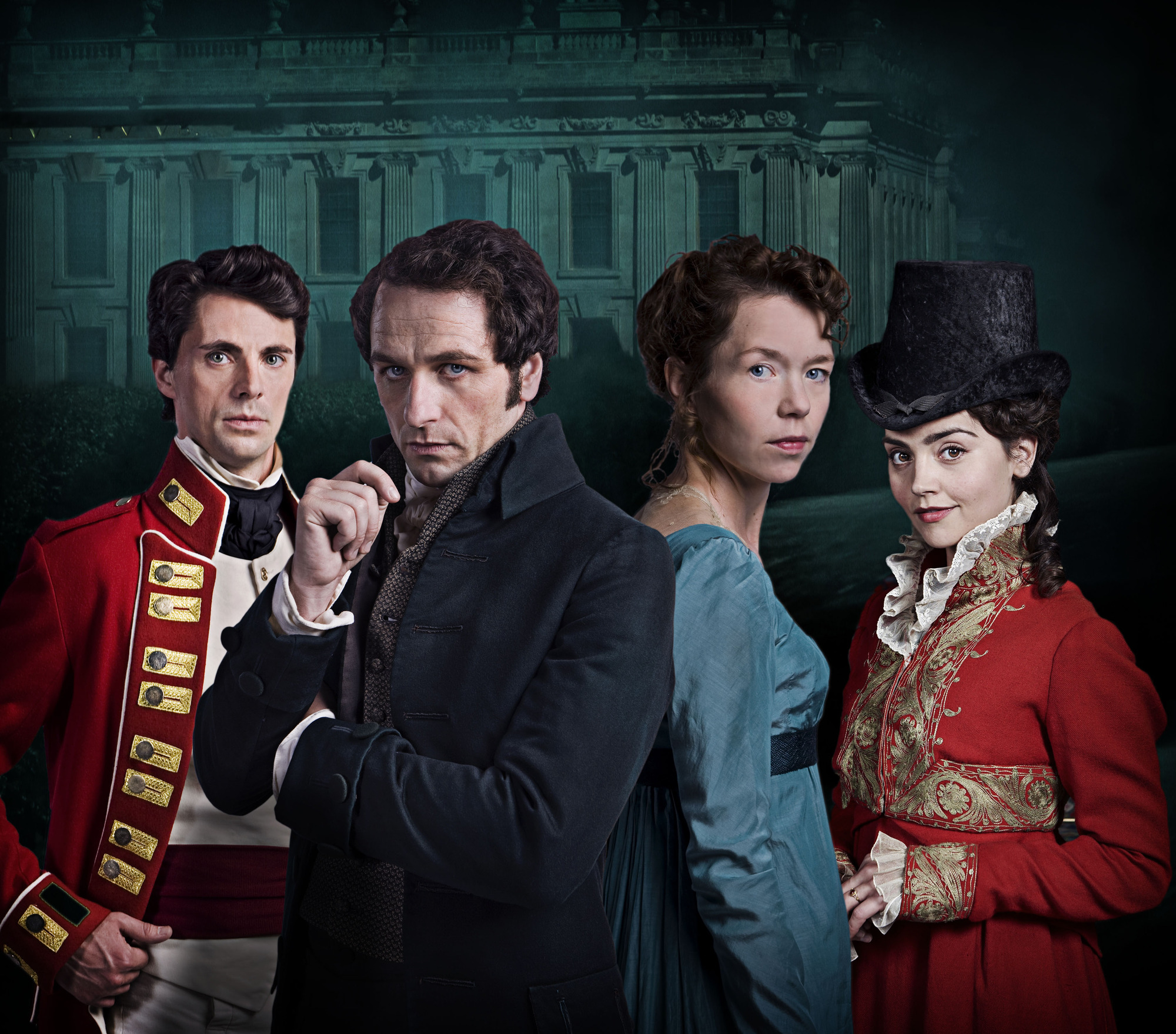 Death Comes to Pemberley didn't impress TV viewers (Picture: BBC)