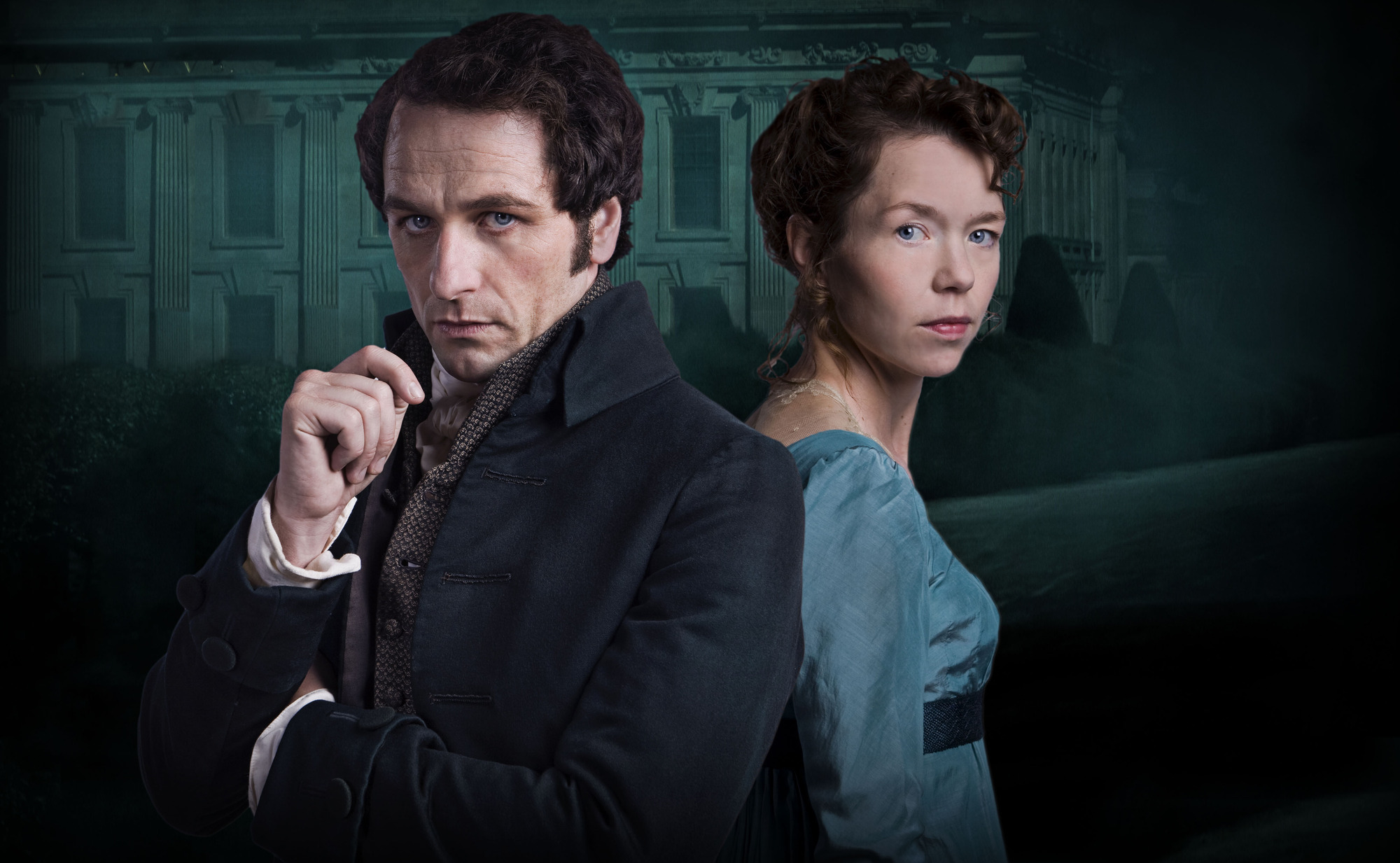 Matthew Rhys plays Mr Darcy in the new show (Picture: Robert Viglasky/BBC)