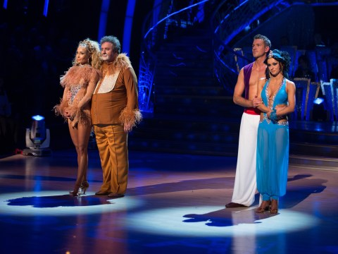 The curtain finally falls on Mark Benton as he Sambas out of Strictly Come Dancing