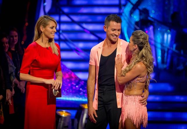 Ashley Taylor Dawson lost the dance off to Patrick Robinson (Picture: BBC)
