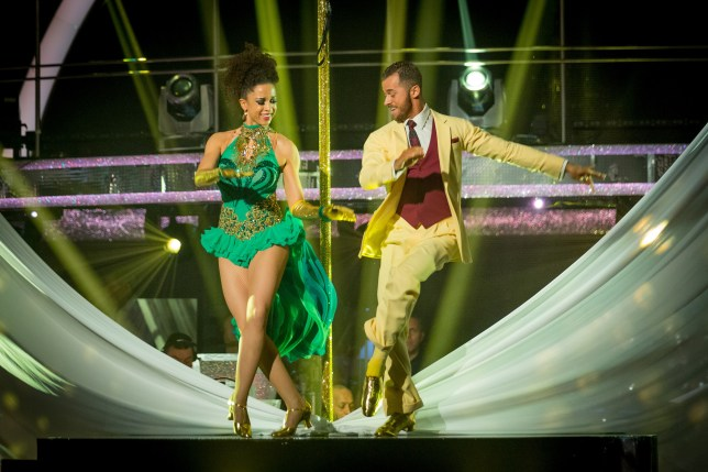 Natalie and Artem wowed judges and viewers alike - but were not crowned Strictly champions (Picture: BBC)