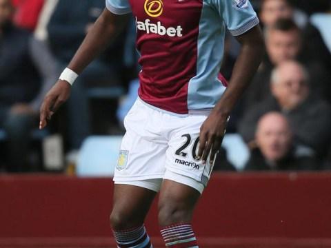 Buyers beware as Aston Villa striker Christian Benteke is struggling with a knee injury