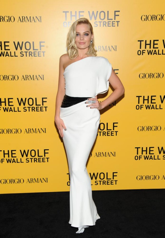 Margot Robbie stars in The Wolf of Wall Street along with Leonardo DiCaprio (Picture: Invision/AP