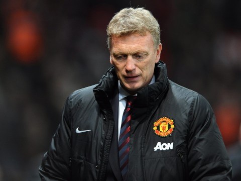 Everton fans vent their anger at former manager David Moyes at Old Trafford