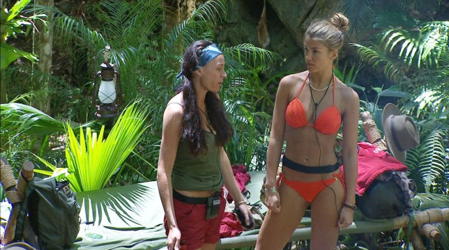 Lucy Pargeter and Amy Willerton