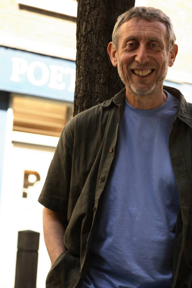 Author Michael Rosen: The alphabet is just as brilliant an invention as the wheel