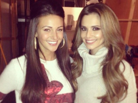 Michelle Keegan gushes over new 'best mate' Cheryl Cole after Coronation Street set visit