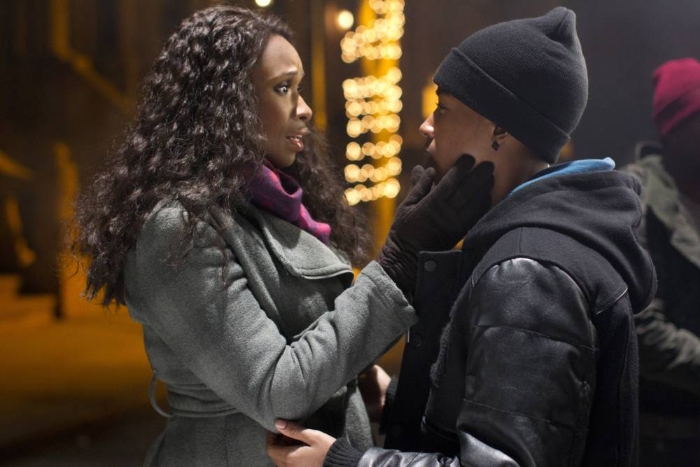 Jennifer Hudson and Jacob Latimore in Black Nativity (Picture: Supplied)