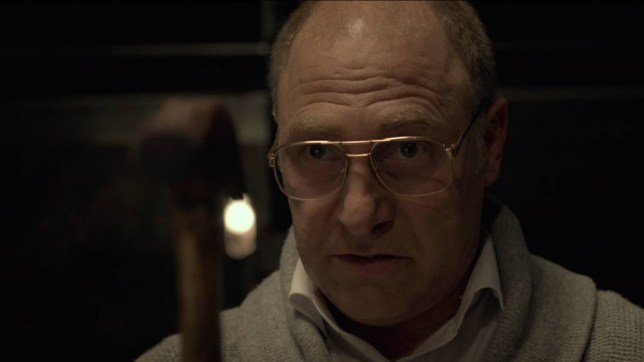 Tzahi Grad plays a vengeful father in Big Bad Wolves (Picture: Supplied)