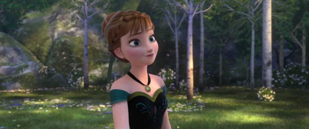 Girl power: Princess Anna, voiced by Kristen Bell, in Disney's Frozen (Picture: Disney)