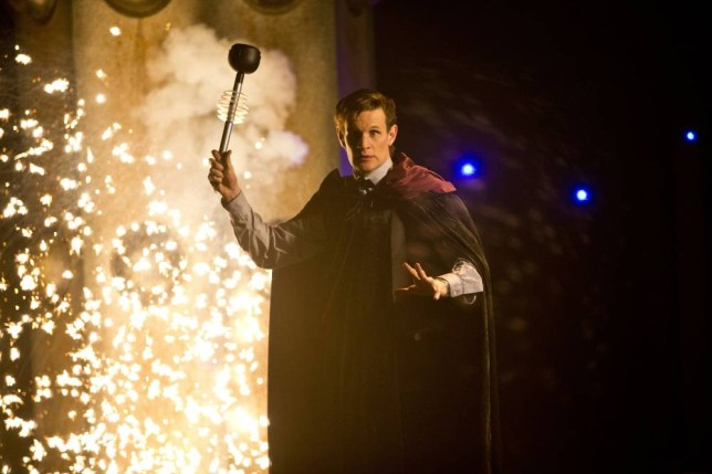 Programme Name: Doctor Who - TX: n/a - Episode: n/a (No. n/a) - Embargoed for publication until: 07/12/2013 - Picture Shows: THIS IMAGE IS UNDER STRICT EMBARGO OF 7th DEC 2013 00.01  The Doctor (MATT SMITH) - (C) BBC - Photographer: Adrian Rogers