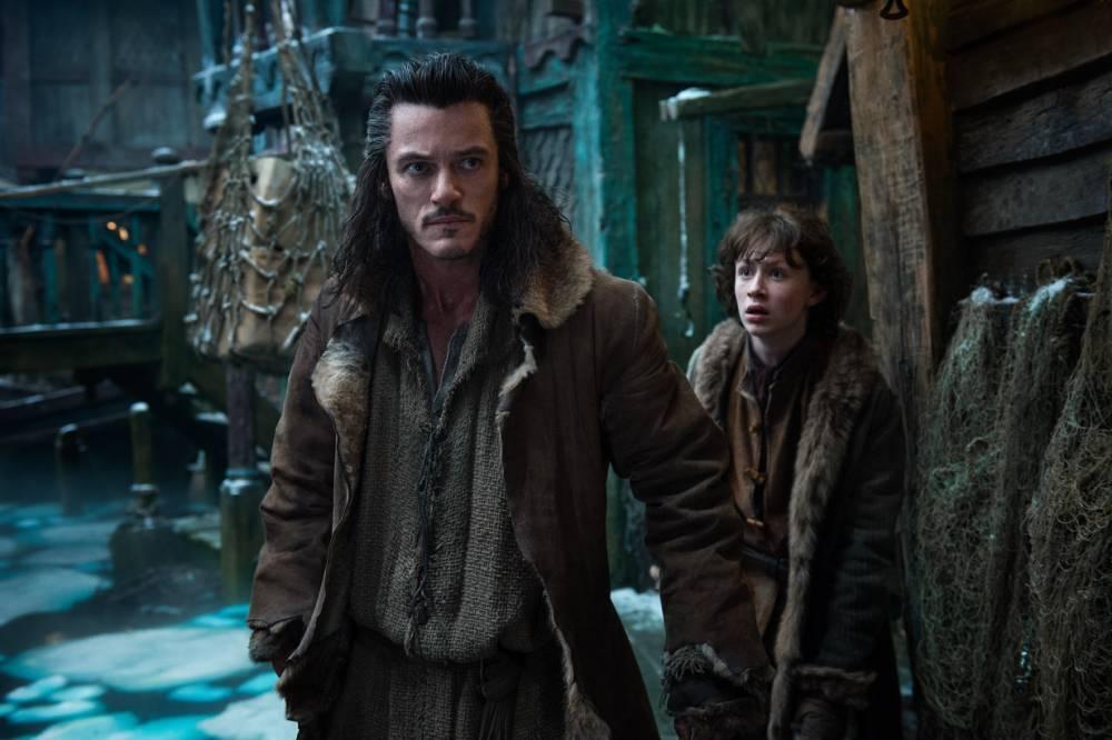 Bard The Bowman Luke Evans makes young Hobbit fan's day