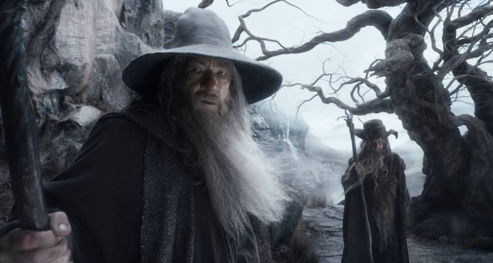 """This image released by Warner Bros. Pictures shows Ian McKellen in a scene from """"The Hobbit: The Desolation of Smaug."""" (AP Photo/Warner Bros. Pictures)"""