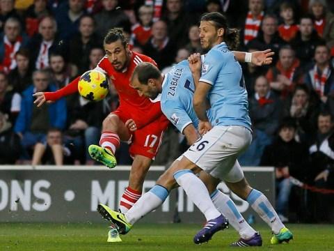 Dani Osvaldo hits stunning strike to level against Manchester City
