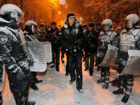 Kiev protesters box clever after Vitali Klitschko calls for camp calm