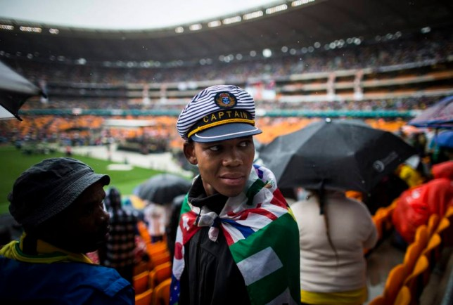 Nelson Mandela remembered at special memorial service in Johannesburg