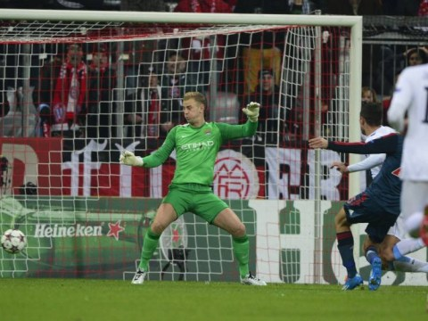 Joe Hart returns to Man City side and concedes twice within 12 minutes against Bayern Munich – watch