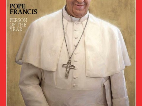 Pope Francis named person of the year by Time magazine