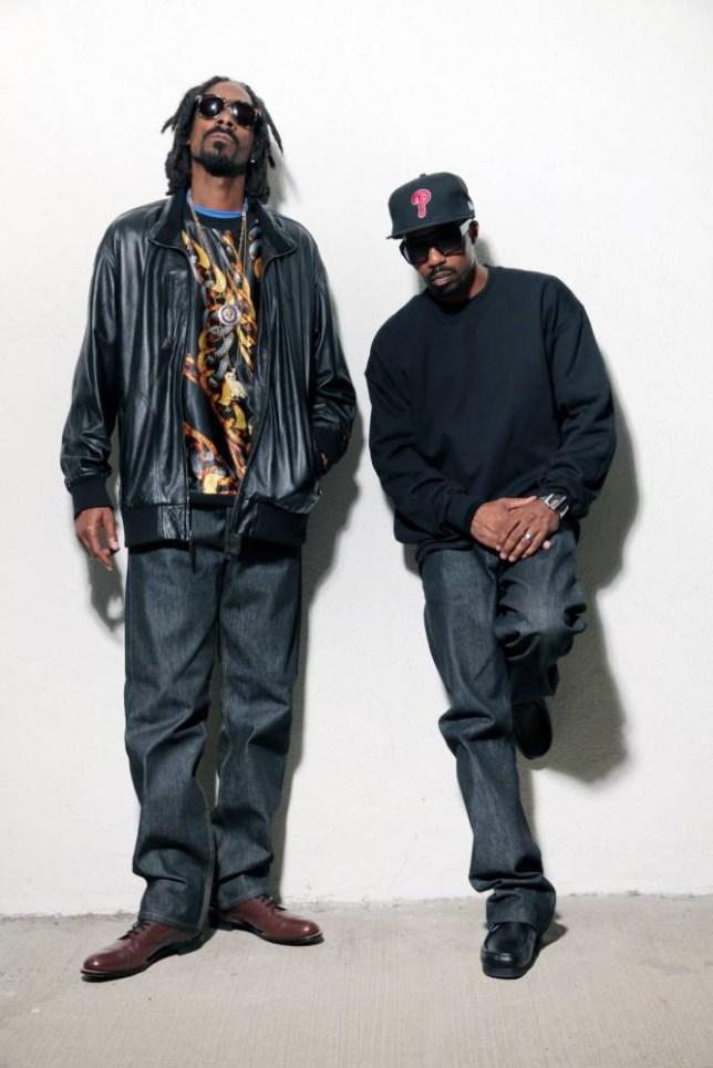 Dâm-Funk and Snoopzilla unite (Picture: Eric Coleman)