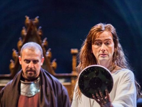 David Tennant's Richard II looks like he just stepped out of a salon