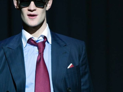Matt Smith may lack confidence with his singing but the ex-Time Lord plays a great American Psycho