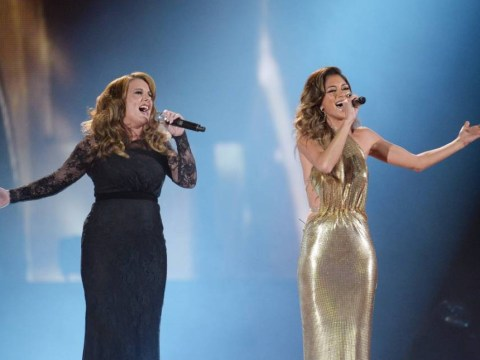 Nicole Scherzinger backs Sam Bailey to win after X Factor final duet