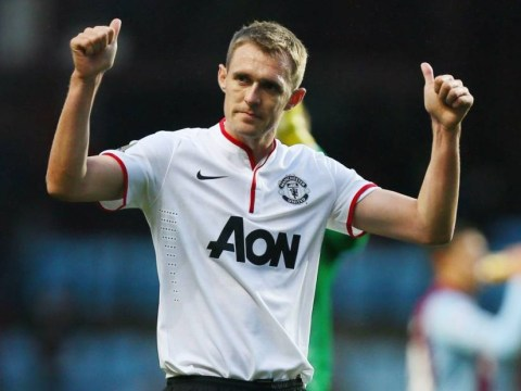 Aston Villa v Manchester United: Darren Fletcher returns for first time in almost a year