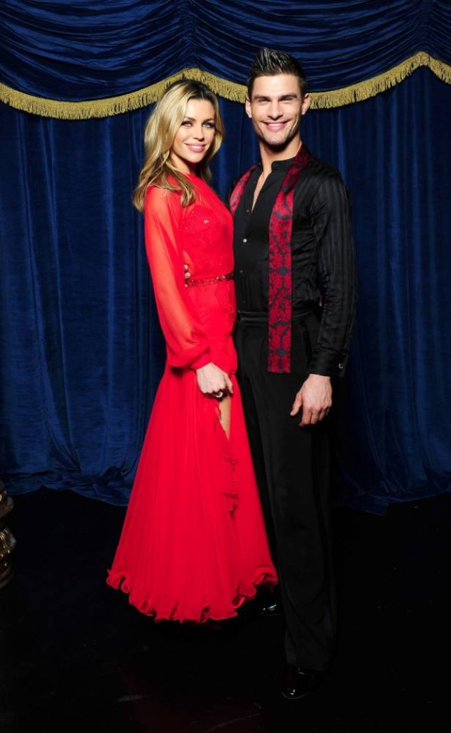 Strictly Come Dancing 2013: Abbey Clancy and Aljaz Skorjanec (Picture: Ian West/PA Wire)
