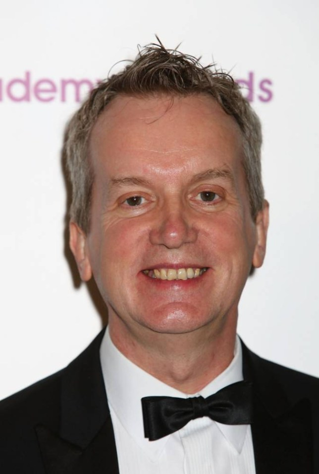 LONDON, ENGLAND - MAY 14:  Frank Skinner attends the Sony Radio Adacemy Awards 2012 recognising national and regional radio stations at Grosvenor House, on May 14, 2012 in London, England.  (Photo by Tim Whitby/Getty Images)