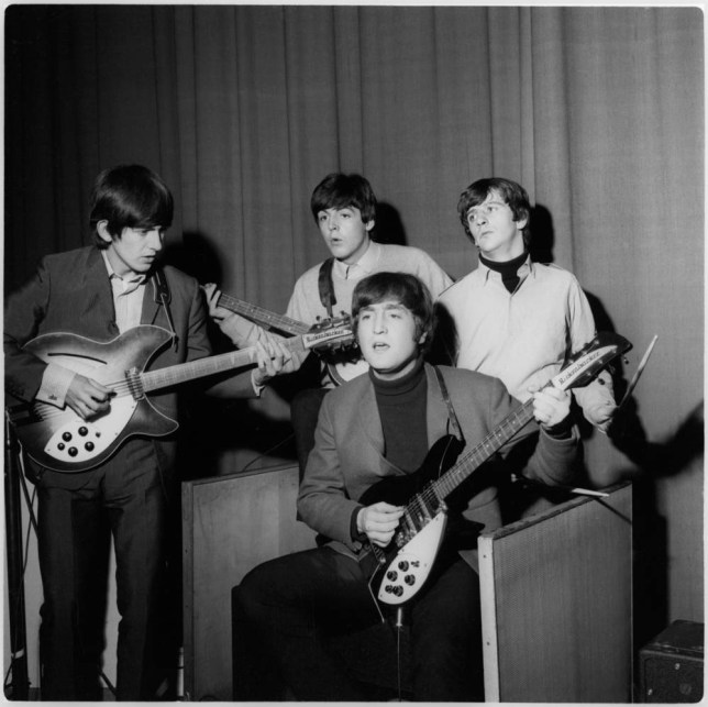 The Beatles work their musical magic (Picture: Apple Corps Ltd)
