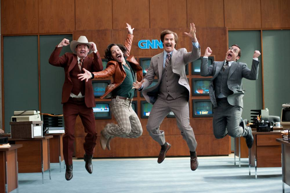 Anchorman 2: The Legend Continues, starring Will Ferrell, is as sublimely silly as ever